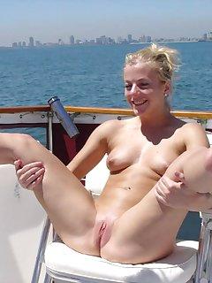 Spread Pussy Nudist Pics